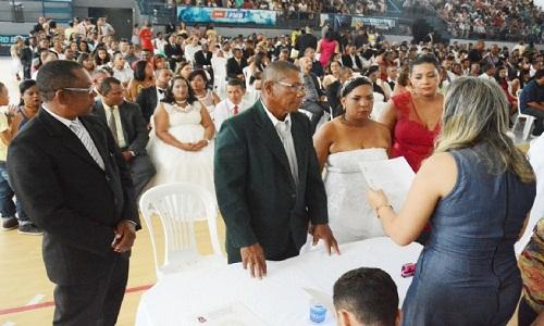 Inscrição para casamento coletivo será encerrada dia 17