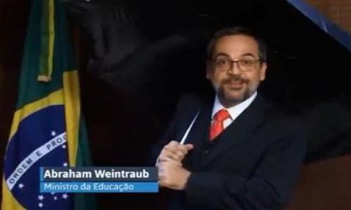 Ministro da Educação ataca Lula e Dilma em piada sobre drogas em avião
