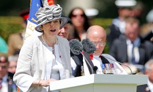 Theresa May deixa hoje a liderança do Partido Conservador do Reino Unido