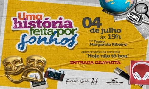 Programação especial durante o mês de julho marcará os 14 anos da Fundação Egberto Costa