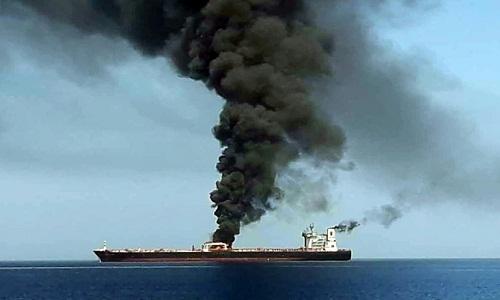 Ataque a petroleiros: EUA divulgam possível prova contra o Irã