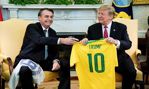 Bolsonaro terá reuniões no Japão com Trump e Macron
