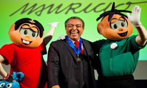 Mauricio de Sousa fará Turma da Mônica nas versões mangá, série e com personagens adultos
