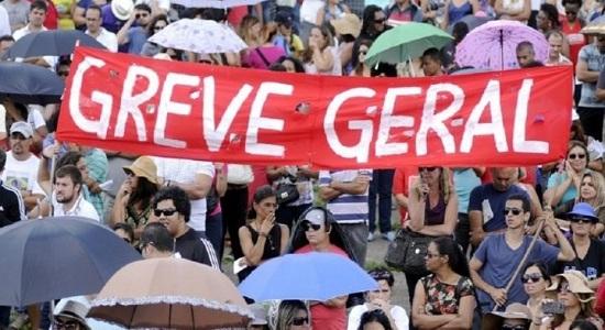 O Brasil realizará em junho a maior greve geral da história/ Por Sérgio Jones*