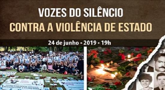 Movimento contra a violência do Estado será lançado dia 24 de junho