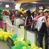 Seleção feminina é recebida com festa no Brasil