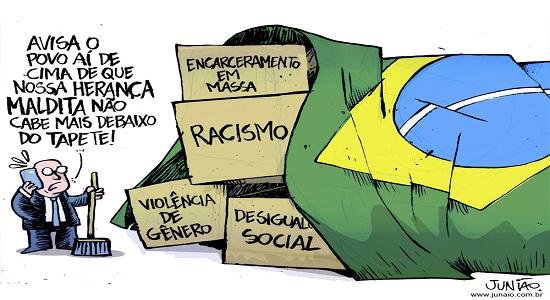 Brasileiros constrangidos em ter Bolsonaro como presidente/ Por Sérgio Jones