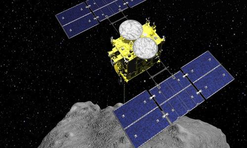 Sonda japonesa inicia 2ª descida à superfície do asteroide Ryugu
