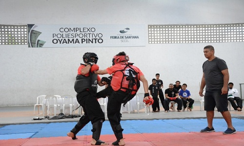 Campeonato Baiano de Kung Fu trouxe campeões nacionais a Feira de Santana