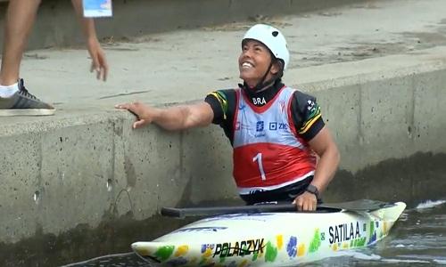Ana Sátila fatura o ouro do C1 no Mundial Sub-23 de canoagem slalom