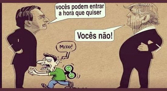Bolsonaro, presidente capachão/ Por Sérgio Jones* O