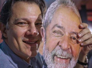 Lula pode dar aval a candidatura de Haddad à presidência do PT