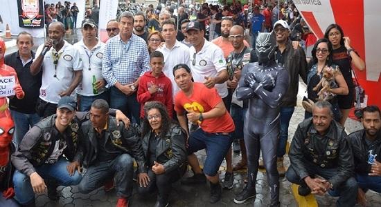 Moto clubes de Feira comemoram Dia Nacional do Motociclistas