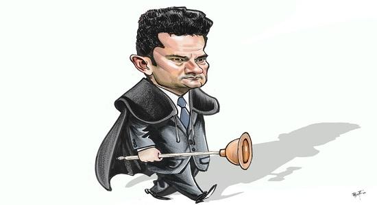 Ministério da Justiça confirma que Moro vazou informações sobre investigação da PF a Bolsonaro
