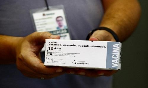Brasil confirma 426 casos de sarampo em 2019