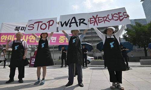 Coreia do Norte volta a disparar mísseis e culpa EUA por aumento de tensão militar