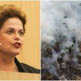 Dilma: a soberania queima junto com a Amazônia e a venda da Petrobrás