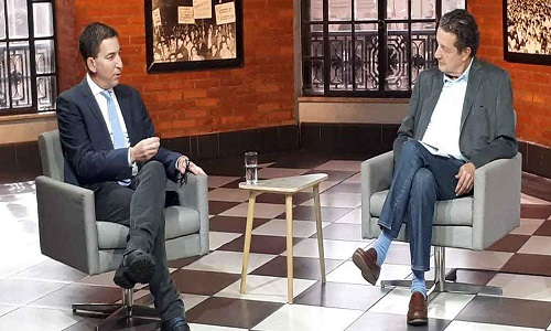 """Greenwald: """"Parceria da imprensa comercial com a Lava Jato é ideológica e comercial"""""""