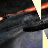 Misteriosos fluxos saindo de buracos negros estariam modelando galáxias