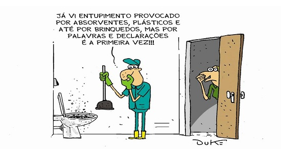 Bolsonaro: fazer cocô de dois em dois dias para reduzir poluição ambiental