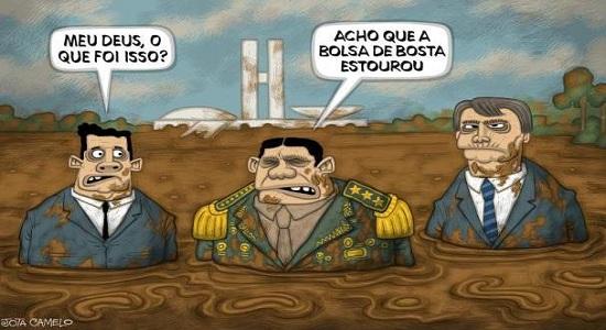Poluição ambiental no Brasil é Bolsonaro e não o cocô / Por Sérgio Jones*