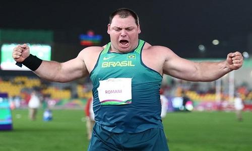 No arremesso do peso, Brasil conquista primeiro ouro do atletismo no Pan de Lima