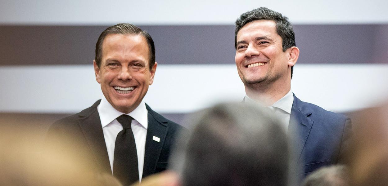 Moro pode ir para o governo Doria se for demitido ou romper com Bolsonaro