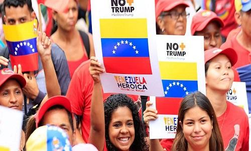 Prossegue na Venezuela campanha contra bloqueio imposto por Trump