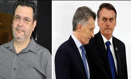 O governo Macri, assim como Bolsonaro, é impossível de engolir, diz Rui Costa Pimenta