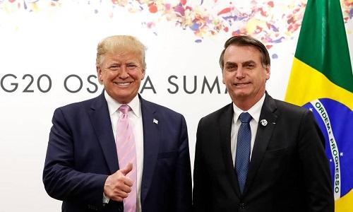 Trump designa Brasil como aliado preferencial dos EUA extra-Otan