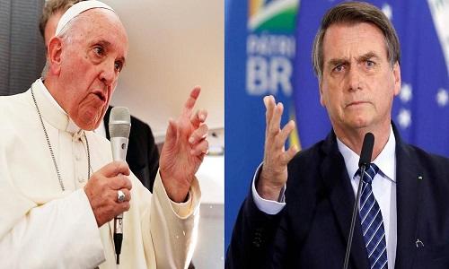 Igreja Católica e Papa Francisco devem se levantar contra bolsonarismo