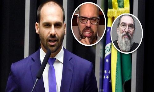 Eduardo Bolsonaro paga a sede da milícia digital fascista do país