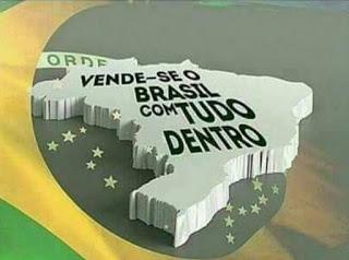 Bolsonaro coloca Brasil à venda