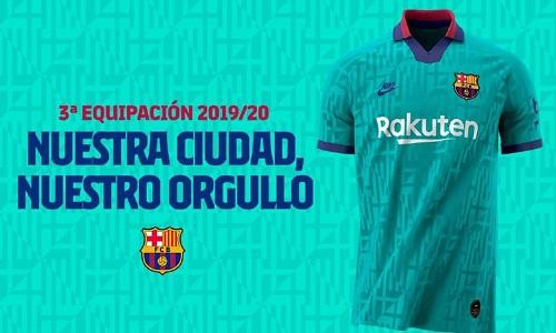 Barcelona lança camisa inspirada em modelo dos anos 90