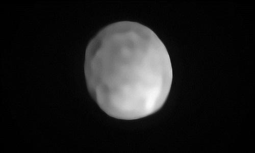 Hígia pode ser promovido a menor planeta-anão do Sistema Solar.