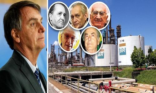 Petrobrás muda nomes de usinas e apaga história do Brasil