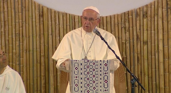 Papa Francisco questionou o desprezo da sociedade pelos mais pobres