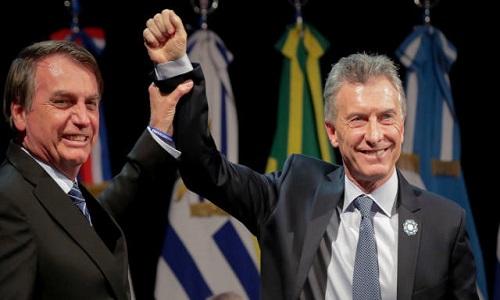 Disputa Bolsonaro versus Fernández poderia pesar no pão e leite
