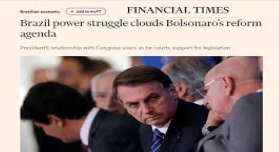 Financial Times fala em possível 'colapso' do Brasil