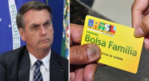 Bolsonaro vai cortar parte do Bolsa Família e estagnar a economia