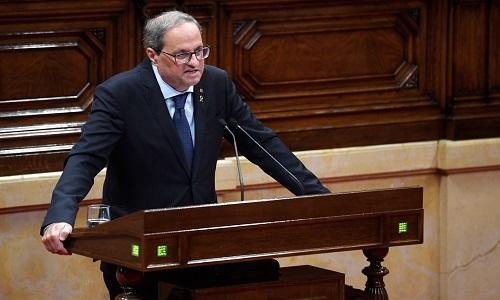 Presidente da Catalunha sugere novo referendo sobre independência da região