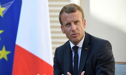 Macron responde à proposta de Putin sobre moratória de mísseis de curto e médio alcance