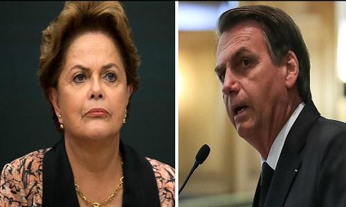 Dilma: Bolsonaro assumiu de vez sua submissão a Trump