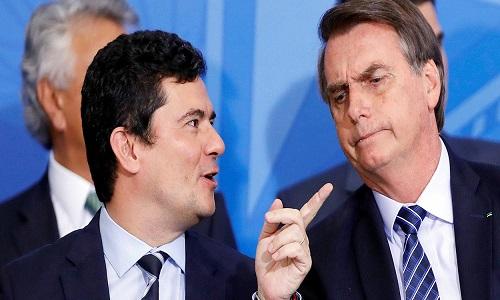 Moro inicia nova ofensiva contra Lula, a mando de Jair Bolsonaro.