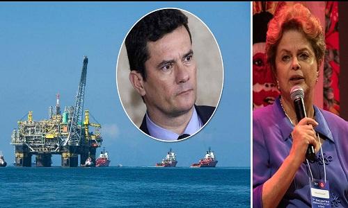 Dilma detona Moro por pedido de prisão antes da entrega do pré-sal