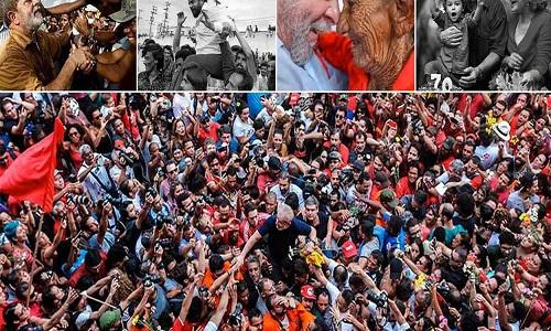 Saída de Lula da prisão causa apreensão no centro e centro-direta