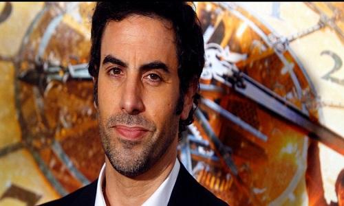 O ator Sacha Cohen critica o Facebook.