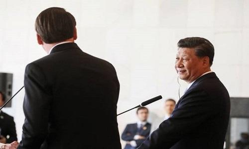 Não entro em guerra comercial, Brasil negocia com o mundo todo, diz Bolsonaro