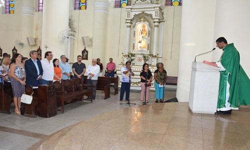 Missa pelos 25 anos de morte de Colbert Martins leva familiares e amigos a Catedral Metropolitana