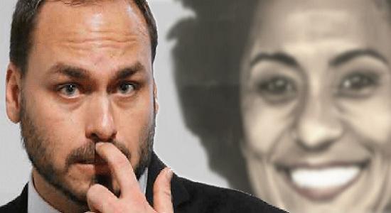 Sumiço de Carluxo do Twitter se explica: polícia investiga briga com Marielle